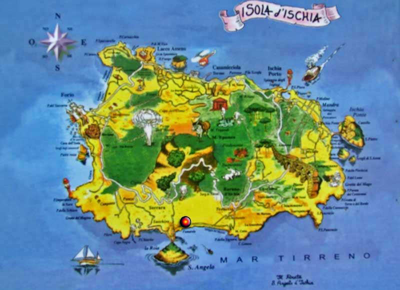 Ischia Cartina Turistica.Ischia Il Turismo E Il Manico Il Dispari Quotidiano
