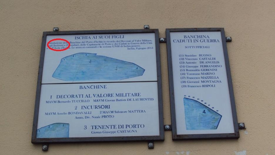 Errore su targa commemorativa, la segnalazione di un turista | Il ...