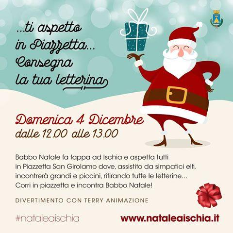 Babbo 4 Natale.Domenica 4 Dicembre Babbo Natale Fa Tappa A Ischia Il Dispari Quotidiano