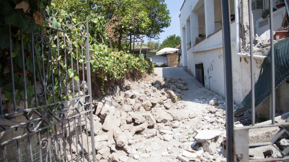 Ischia, dichiarato ufficialmente lo stato di emergenza: stanziati 7 milioni