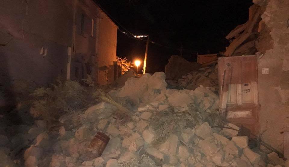 Terremoto a Fiastra, scossa di magnitudo 3.1 della scala Richter
