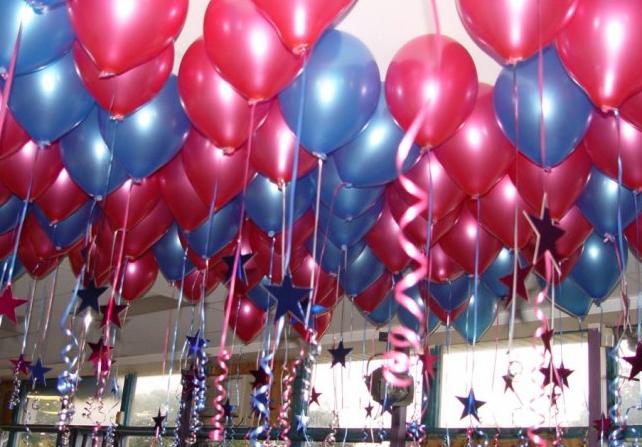 Tendenze e consigli per decorare con palloncini gonfiati a for Decorare una stanza con palloncini