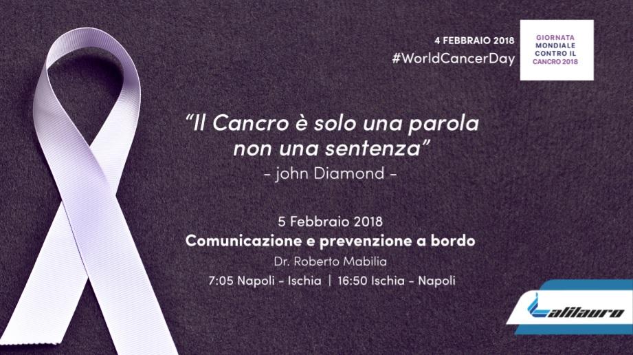 Orgoglio calabrese nella giornata mondiale della lotta contro il cancro